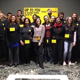 «Up to you», il teatro creato dai giovani Due spettacoli per rialzare il sipario