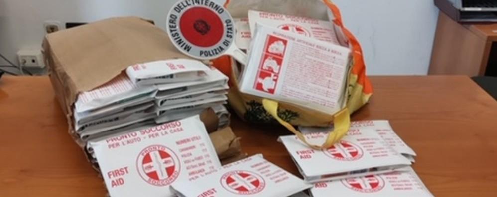 Vendevano falsi kit del Pronto soccorso vicino all'ospedale di Treviglio: multati