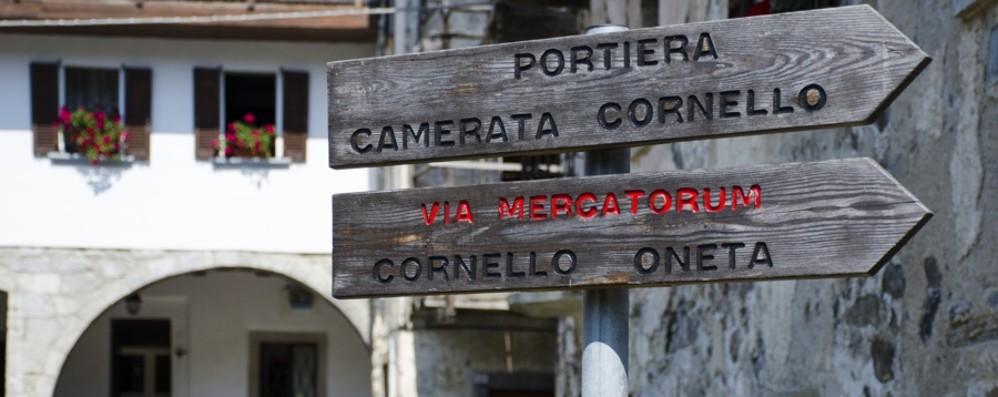 Via Mercatorum come il Cammino di Santiago Carta con 11 timbri per chi la percorre tutta