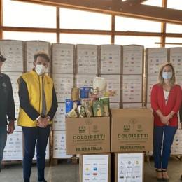 5 mila kg di cibo per i più bisognosi, Pasqua solidale con Coldiretti