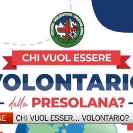 Appello a Castione, si cercano rinforzi  per il Corpo Volontari Presolana