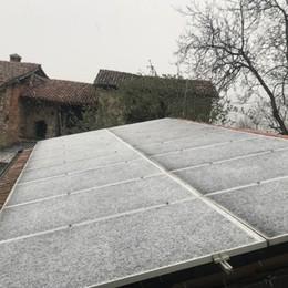 Aria artica sull'Italia, temperature giù Ecco i primi fiocchi in Bergamasca