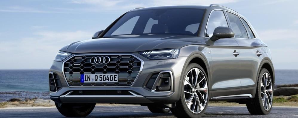 Audi Q5 ibrida plug-in al via la prevendita