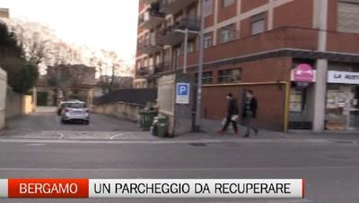 Bergamo: mezzo milione per il parchieggio di via Baschenis (ora nel degrado)
