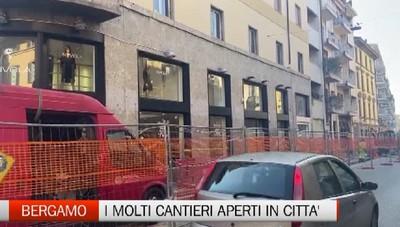 Bergamo: troppi cantieri in città. Problemi per gli automobilisti