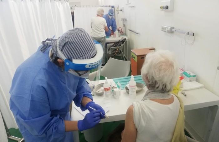 Vaccinazioni alla Fiera di Bergamo