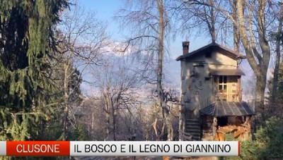 Gente e Paesi, il bosco e il legno di Giannino Trussardi a Clusone