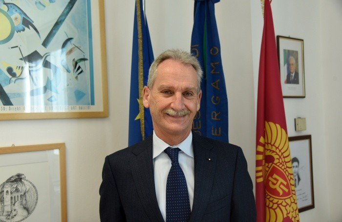 Il Questore di Bergamo Maurizio Auriemma