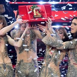 I Maneskin trionfano a Sanremo Il foto racconto della serata