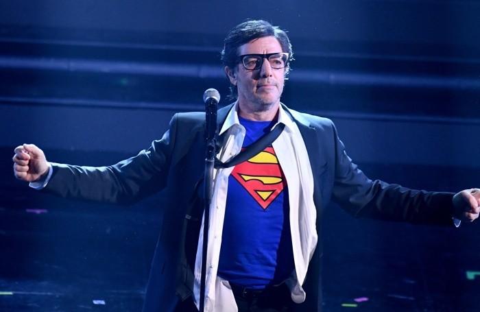 Italian singer Max Gazzè