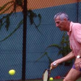 Il tennis la sua grande passione Ponteranica piange Carlo Corna