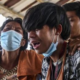 In Birmania bimbi uccisi Superata ogni soglia