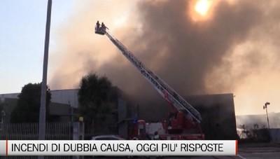 Incendi di dubbia causa, sette accertamenti tra il 2019 e il 2020