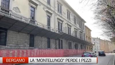 La Caserma Montelungo perde i pezzi. Possibili restringimenti della strada