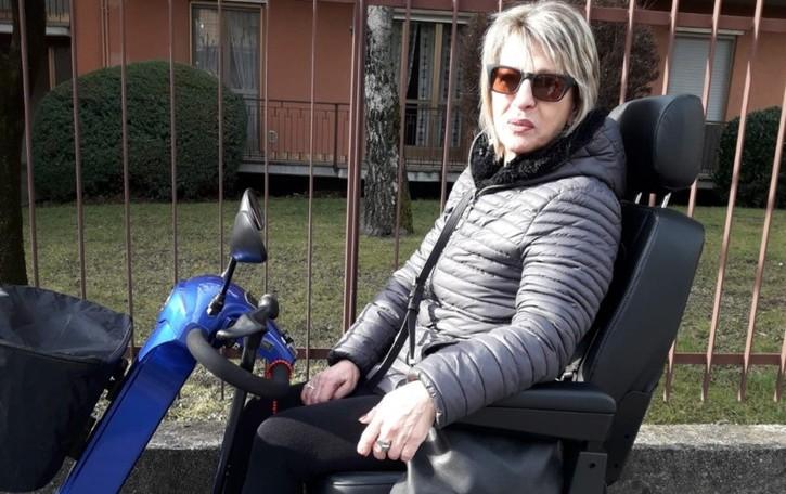 «La sclerosi mi ha portato via tutto ma non è riuscita a rubarmi il sorriso»