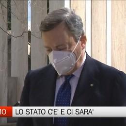 La visita di Mario Draghi a Bergamo