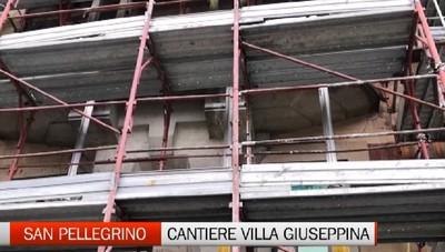 Lavori in corso a Villa Giuseppina. La struttura di S. Pellegrino è stata sventata per diventare un centro curativo