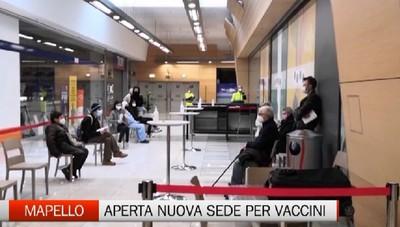 Mapello, aperta nuova sede per vaccini