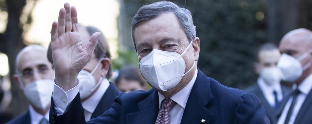 Mario Draghi a Bergamo il 18 marzo  per ricordare le vittime del Covid