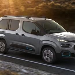 Multispazio Citroën  Berlingo diventa elettrico