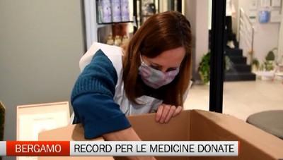 Raccolta delle medicine: a Bergamo (terza in Italia) donate 21mila confezioni