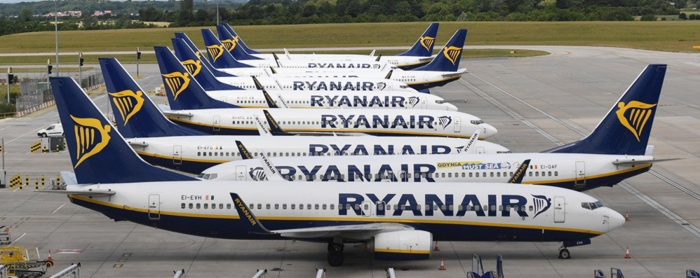 Ryanair, nuovi investimenti a Orio 85milioni di euro e due nuove rotte