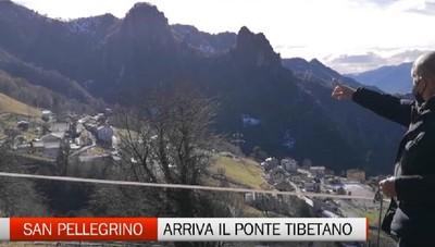 San Pellegrino: in estate arriva il ponte tibetano di Santa Croce