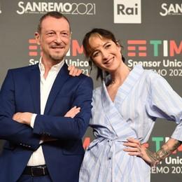Sanremo, ci sarà Laura Pausini Amadeus: «Sono emozionato»
