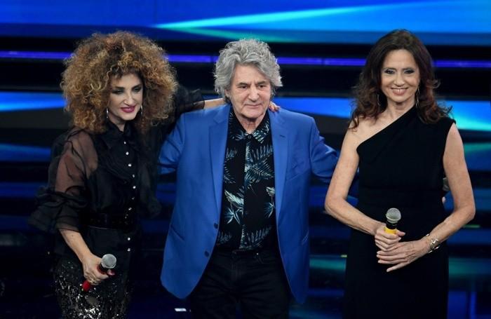 Marcella Bella, Fauso Leali and Gigliola Cinquetti