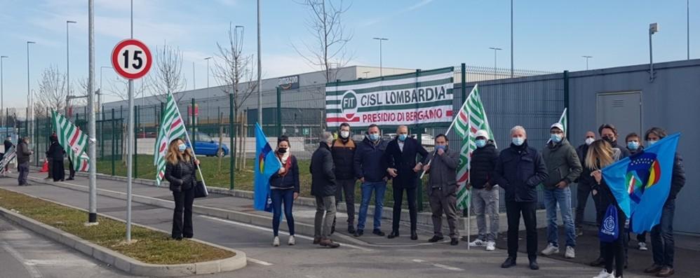 Sciopero Amazon, adesioni a Bergamo I sindacati: ora riapriamo le trattative