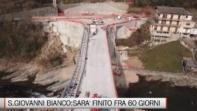 S.Giovanni Bianco: il nuovo ponte è quasi pronto