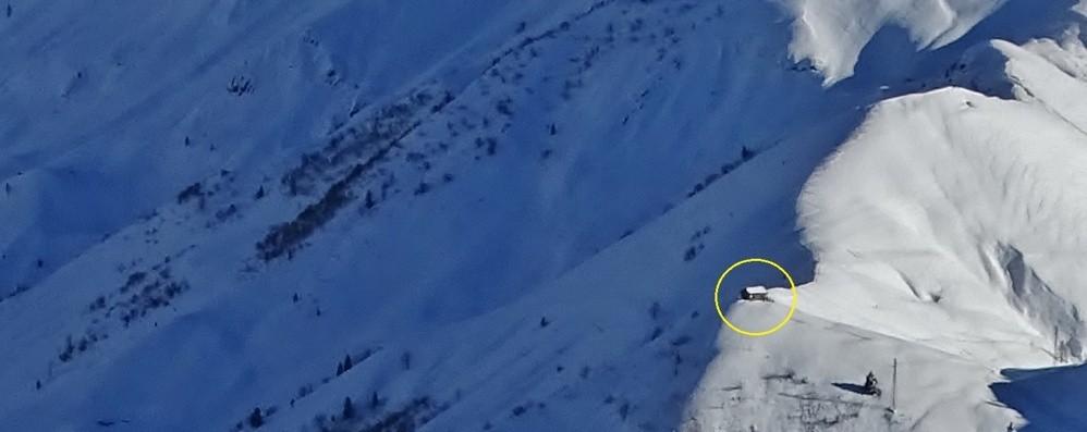 Sorpresi dalla valanga a Lizzola Grave giovane scialpinista