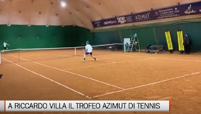 Tennis: Villa vince il Trofeo Azimut