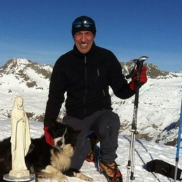 Tragedia in Presolana, addio a Giamba «Solare e generoso, amava la montagna»