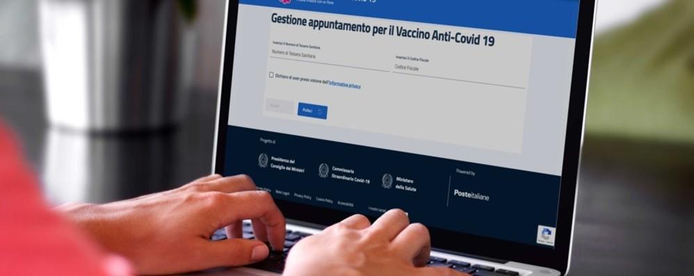 Vaccini, col sistema di prenotazione delle Poste si sceglieranno data e sede