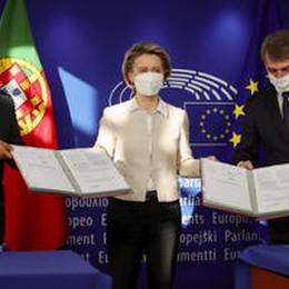 Recovery, i presidenti Ue: 'Ratifiche ora, fondi a giugno'