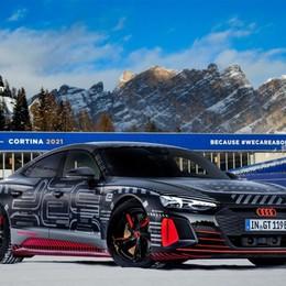 A Cortina Audi svela la e-tron Gt prototipo