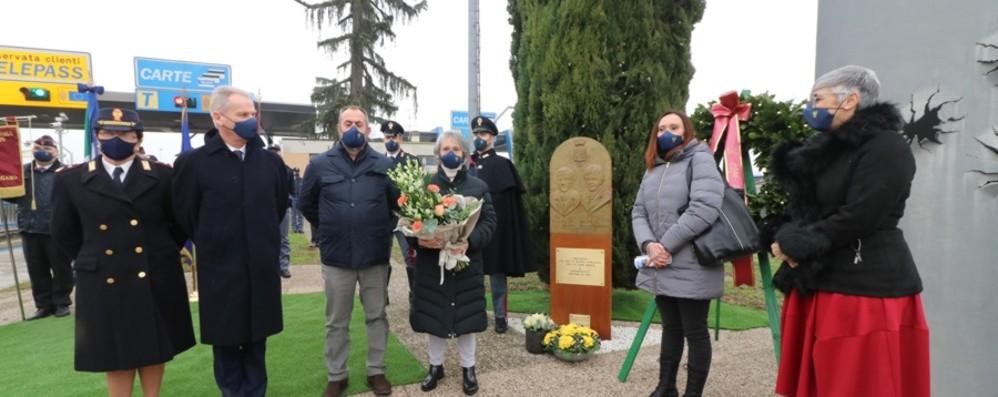 Dalmine ricorda Barborini e D'Andrea Nuova stele per commemorarli - Foto