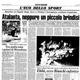 L'Atalanta e il Napoli in Coppa Italia. Storia delle semifinali giocate e di una mancata (e rispunta quella rimessa laterale...)