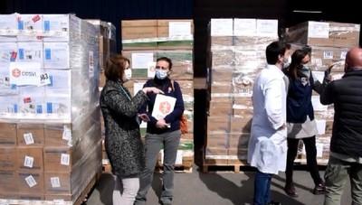 Ancora emergenza mascherine: il Cesvi ne dona un milione e mezzo all'ospedale Papa Giovanni XXIII