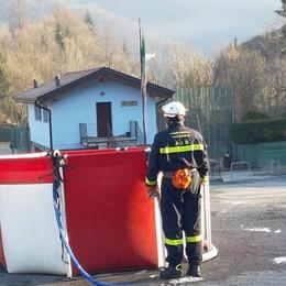Bruciano i boschi a Val Brembilla  La Regione: adesso tolleranza zero