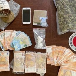 In casa droga e 26.000 euro in contanti, arrestato 42enne di Telgate