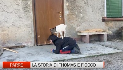 Parre, la storia di Thomas e di Fiocco