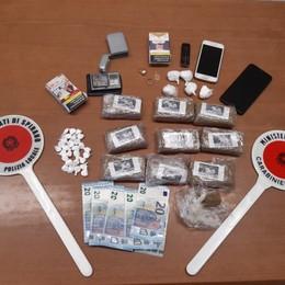 Pognano, arrestato con un chilo di hashish In casa sequestrati anche cocaina e soldi