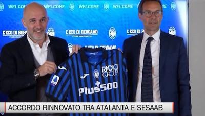 Rinnovato l'accordo Atalanta-SESAAB, le parole di Massimo Cincera