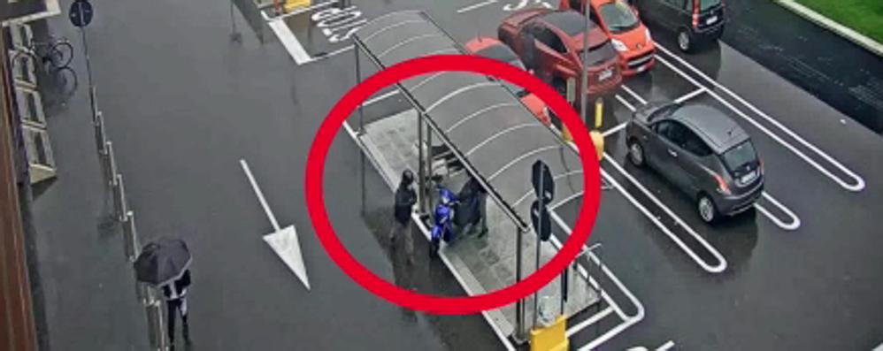 Seriate, donna rapinata di 30 mila euro  con spray al peperoncino, due arresti- Video