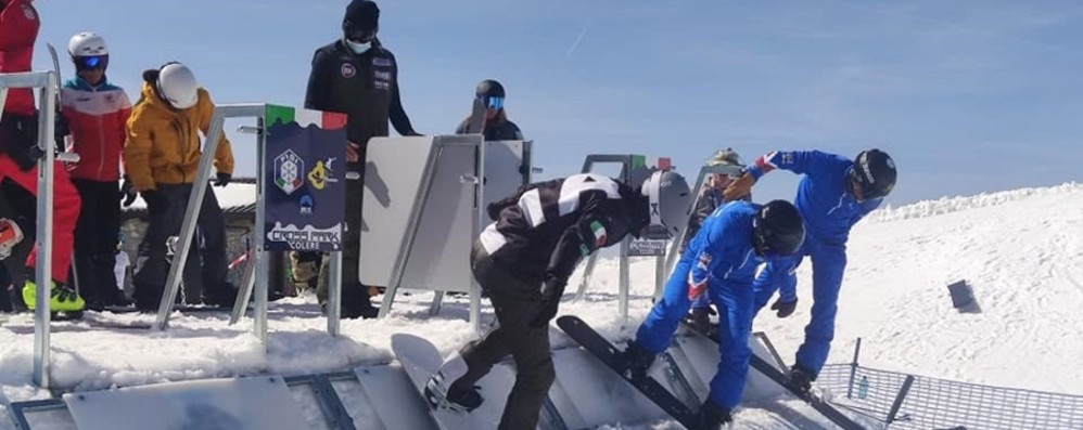 Snowboard mondiale, a Colere ci sono due prove paralimpiche