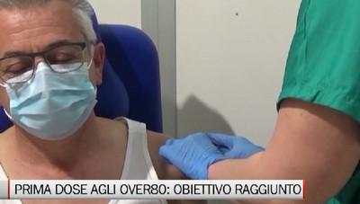 Vaccini agli over80, obiettivo raggiunto