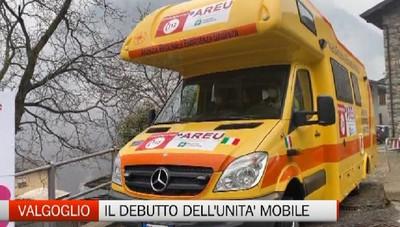 Valgoglio, campagna vaccinale e unità mobile