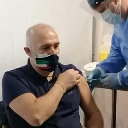 Valgoglio, il giorno del vaccino - Foto Iniezioni al 60% della popolazione
